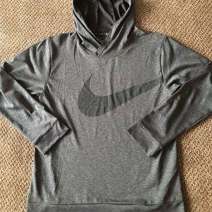 Boy's Nike Dri-Fit Hooded Tee Size M